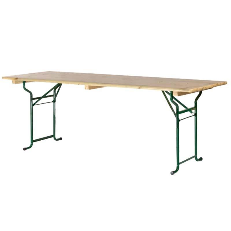 location table brasserie 200 x 70 cm. Black Bedroom Furniture Sets. Home Design Ideas