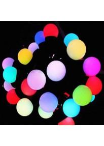 Guirlande lumineuse extérieure LED multicolore