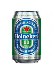 Pack 24 bières Heineken sans alcool 33cl