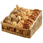 Manne à pain en osier