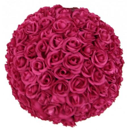 Location De Boules De Rose Pour Deco Mariage Pas Cher